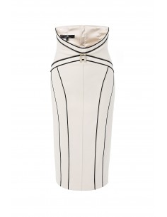 Calf-length pencil skirt - Elisabetta Franchi - go03777e2_360
