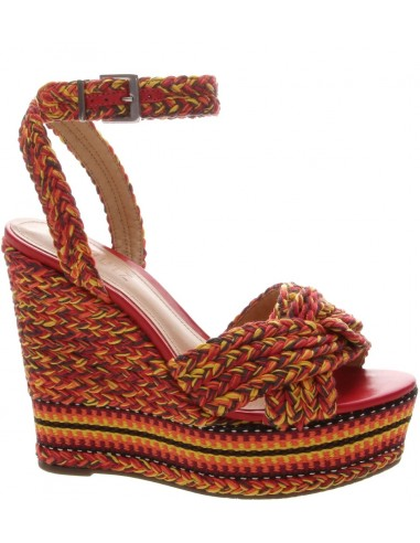 Schutz Sandal Anabela Tejido Multicolor | altamoda.shop - S0313902650002