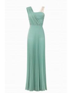 Elisabetta Franchi Geplooide jurk in jersey stof | Online kopen - AB79492E2