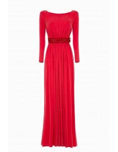 Elisabetta Lange jurk met kettingen | Online kopen - AB79892E2