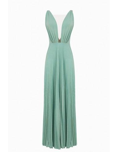 Elisabetta Franchi Geplooide mouwloze jurk   Online kopen - AB80292E2