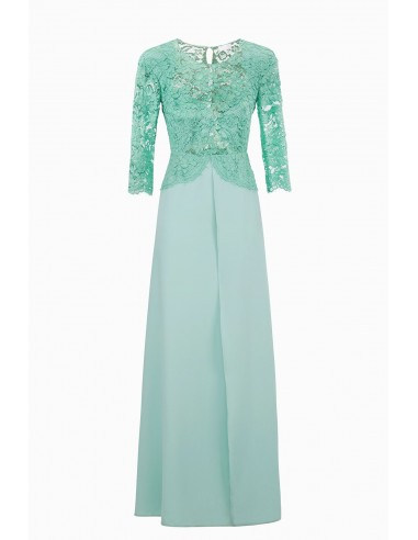 Elisabetta Franchi Long dress with lace | Buy Online - AB80992E2