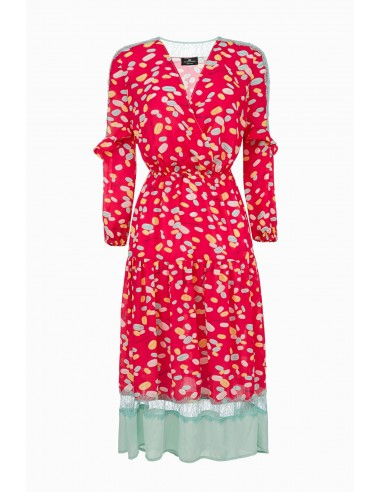 Elisabetta Franchi Dress with macaron print | Buy Online - AB82292E2