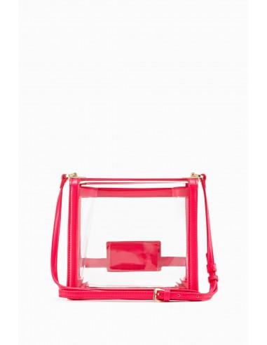 Elisabetta Franchi Medium PVC shoulder bag | Buy Online - BS34A93E2