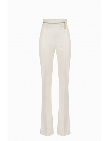 Pantalones de cuero sintético Elisabetta Franchi Comprar en línea - PA33096E2