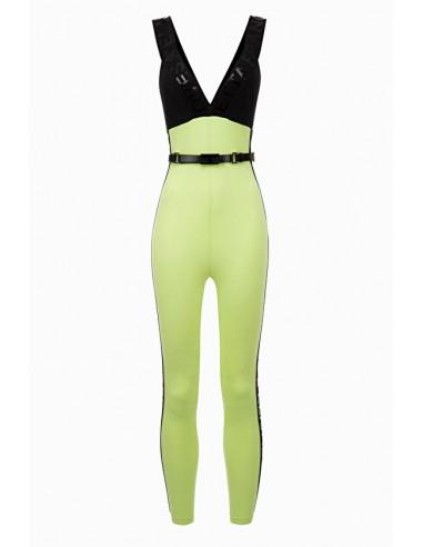Elisabetta Franchi Jumpsuit con Belt Line Moves Buy Online - TU19096E2