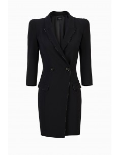 Elisabetta Franchi Coat Dress from Crêpe Buy online - AB96296E2