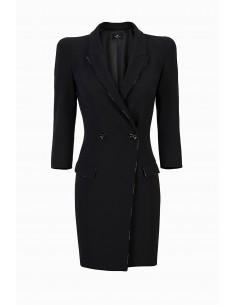 Elisabetta Franchi Coat Dress de Crêpe Comprar online - AB96296E2