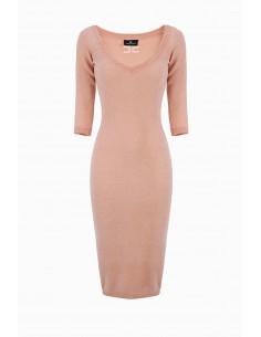 Elisabetta Franchi Midi Knitted Dress Buy Online - AM35S96E2