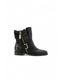 Ankle Boots with frills - Elisabetta Franchi