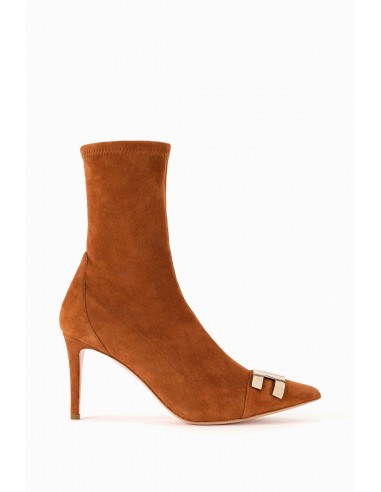Elisabetta Franchi Ankle Boot with Logo Buy Online - SA21L97E2