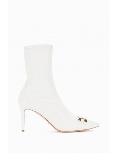 Elisabetta Franchi Ankle Boot with Logo Buy Online - SA49L97E2