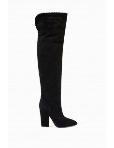 Elisabetta Franchi Boots with Logo - kup online - SA01R96E2
