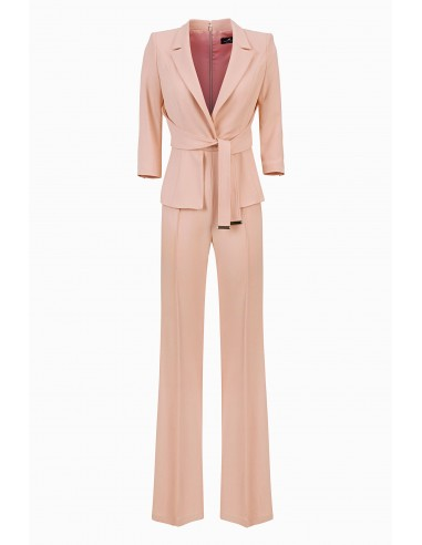 Elisabetta Franchi long jumpsuit with belt - buy online - TU18996E2