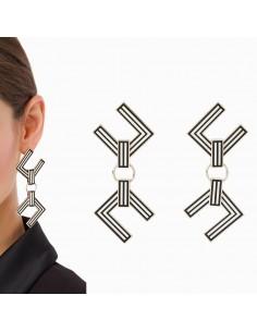 Hanger Oorbellen met logo
