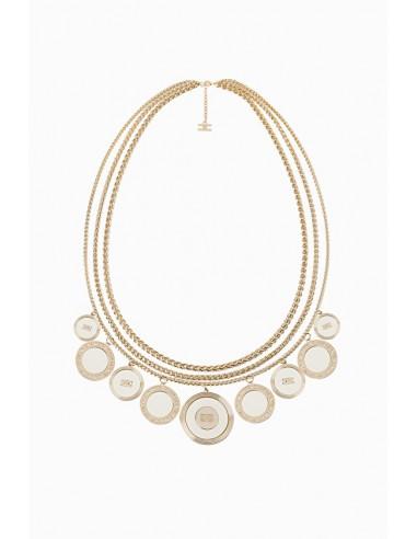 Elisabetta Franchi Charms Necklace - sklep internetowy - CO17B97E2