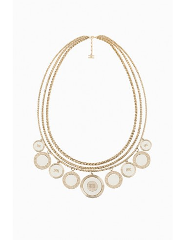 Elisabetta Franchi Charms Necklace - shop online - CO17B97E2