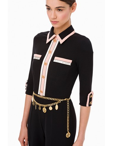 Elisabetta Franchi Chain belt - shop online - CT63D97E2