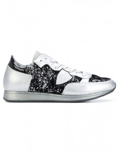 Philippe model sneaker silver with...