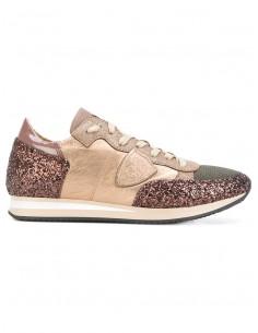 Sneaker Bronze mit Glitzer - Philippe Model