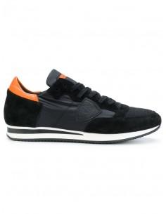 Philippe model zapatillas negro / naranja