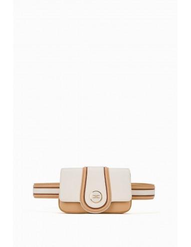Elisabetta Franchi Bolsa bicolor para el cinturón - altamoda.shop - BM05A97E2