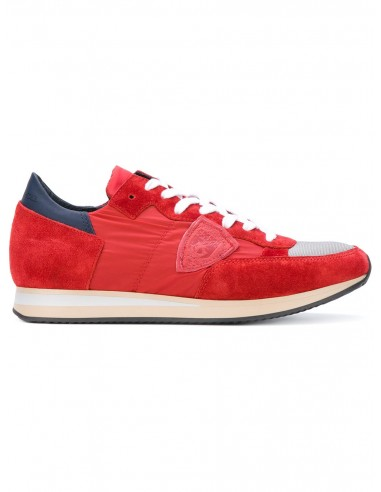 philippe model sneaker red. Black Bedroom Furniture Sets. Home Design Ideas