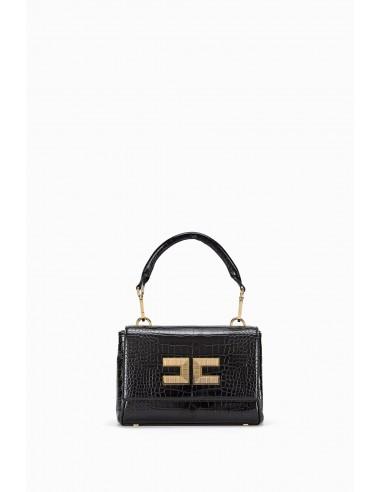 Elisabetta Franchi Small bag with crocodile effect - altamoda.shop - BS34A97E2