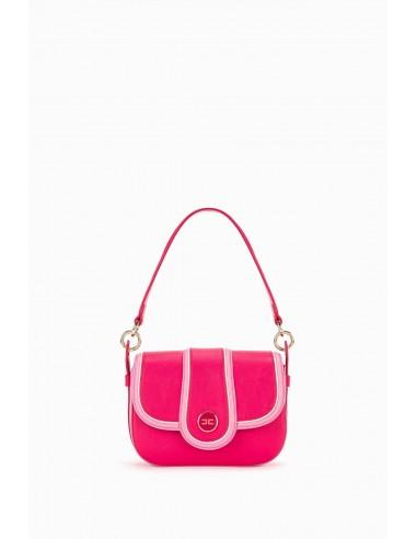 Elisabetta Franchi Tweekleurige medium tas met handvat - altamoda.shop - BS36A97E2