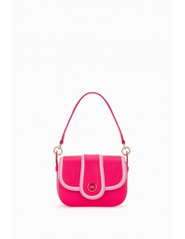 Elisabetta Franchi Zweifarbige mittelgroße Tasche mit Griff - altamoda.shop - BS36A97E2