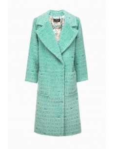Elisabetta Franchi Long Wool Coat - altamoda.shop - CP03297E2