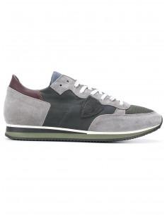 Zapatillas Gris / Gris Oscuro - Philippe Model