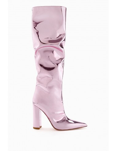 Elisabetta Franchi Laminated Boots - altamoda.shop - SA26B98E2