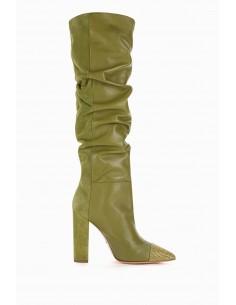 Elisabetta Franchi laarzen met spitse tenen - altamoda.shop - SA45L98E2