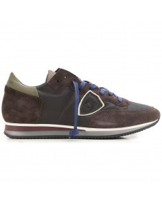 Sneaker Marrón/Verde/Azul - Philippe Model