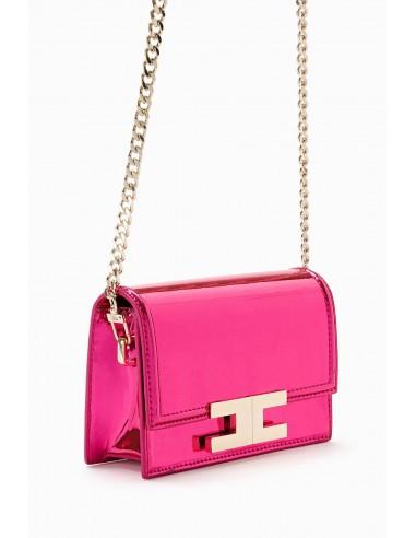 Elisabetta Franchi shoulder bag with logo - altamoda.shop - BS41A98E2