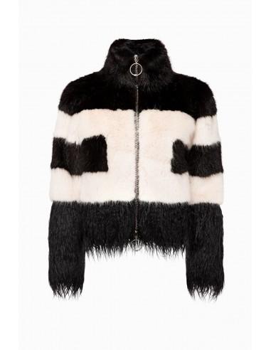 Elisabetta Franchi two coloured jacket - altamoda.shop - GI08A97E2