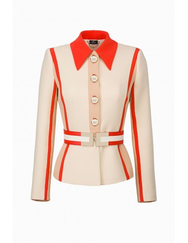 Elisabetta Franchi Long wool jacket - altamoda.shop - GI91197E2