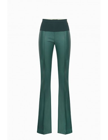 Calças de couro Elisabetta Franchi - altamoda.shop - PA03197E2