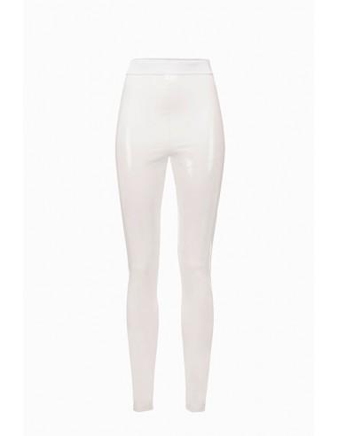 Elisabetta Franchi Vinyl Trousers- altamoda.shop - PA04498E2