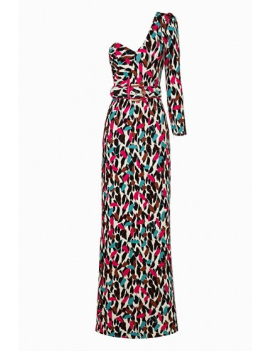 Comprar vestido Elisabetta Franchi con punto de impresión online - altamoda.shop - AB09497E2
