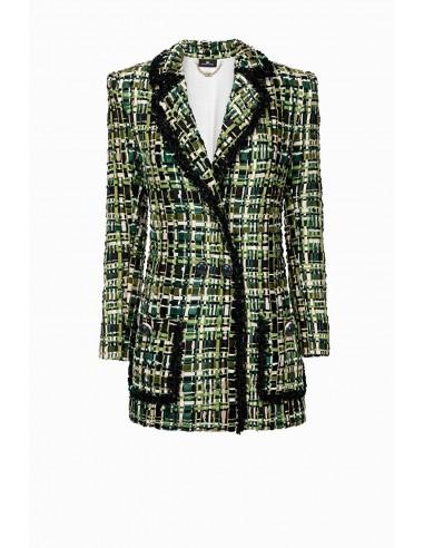 Comprar Elisabetta Franchi vestido curto bordado online - altamoda.shop - AR43A97E2