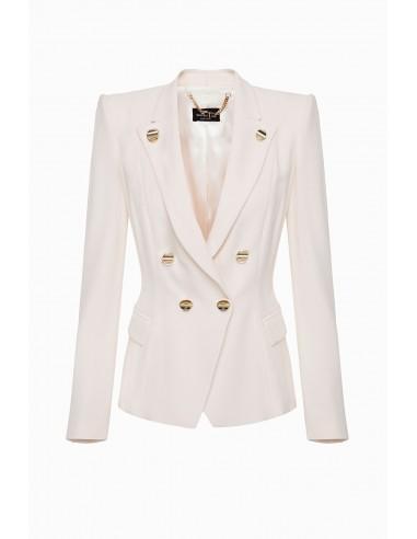 Buy Elisabetta Franchi short jacket with buttons online - altamoda.shop - GI90697E2