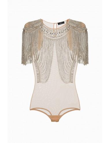 Buy Elisabetta Franchi Embroidered Body Online - altamoda.shop - RB15J98E2