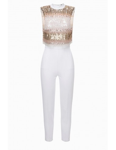 Elisabetta Franchi geborduurde jumpsuit online kopen - altamoda.shop - TU20397E2