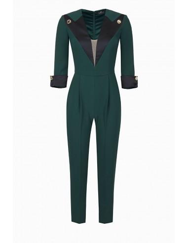 Elisabetta Franchi Tweekleurig jumpsuit Online kopen - altamoda.shop - TU21197E2