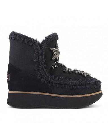 MOU Botas de Corrida Esquimó 18 com Estrelas de Cristal - altamoda.shop