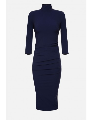 Elisabetta Franchi Midi dress with ruffles - altamoda - AB13901E2