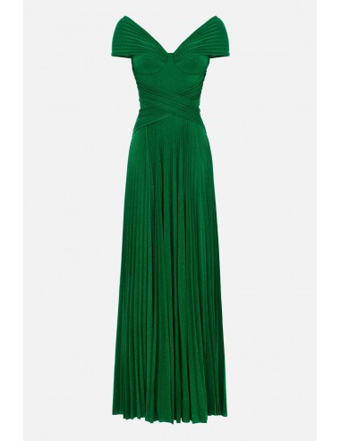 Elisabetta Franchi Long pleated dress - altamoda - AB17101E2