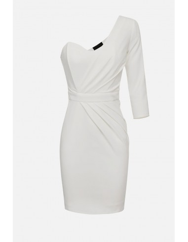 Elisabetta Franchi Short, single-shoulder dress - altamoda - AB17801E2